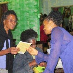 Een moeilijke vraag tijdens de Haiti bijeenkomst