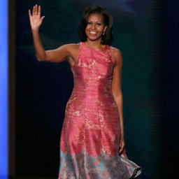 First lady Michaelle Obama