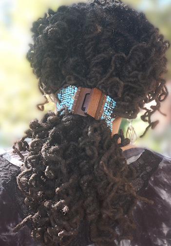 Medium dreadlocks voor kroeshaar