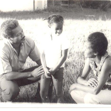 Met pa en ma in Suriname
