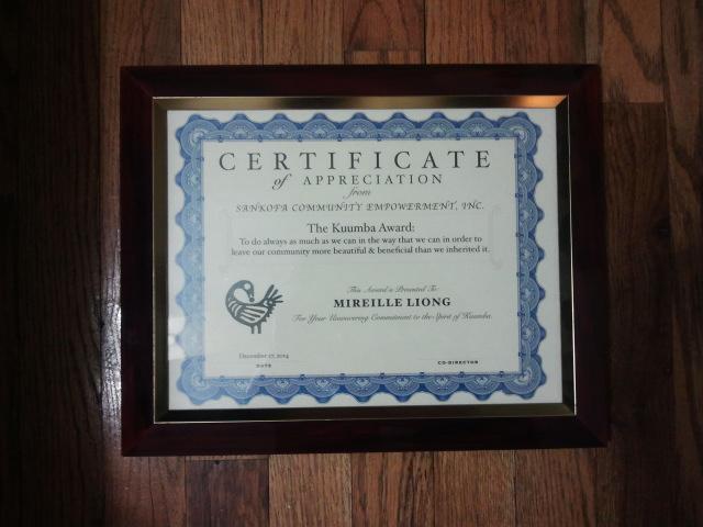 Kuumba Award voor Kroeshaar.com