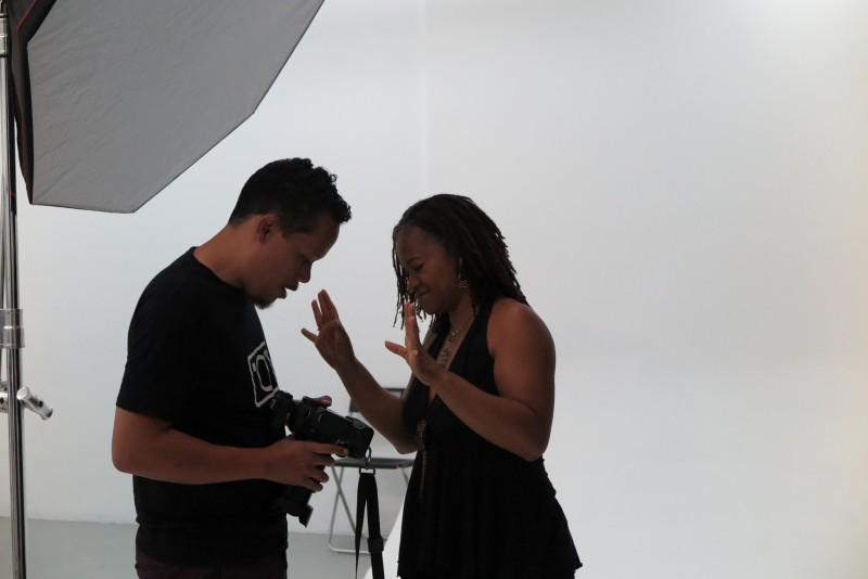 Kroeshaar shoot In de Studio