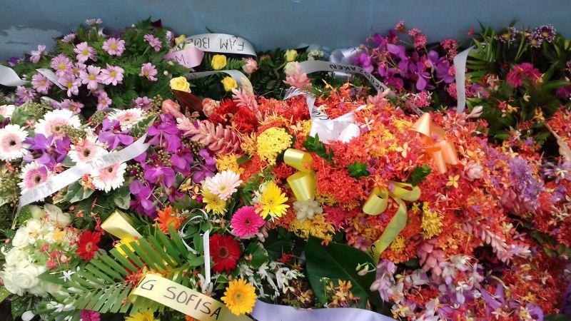 bloemen voor Tineke