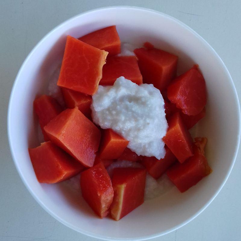 papaya ontbijt
