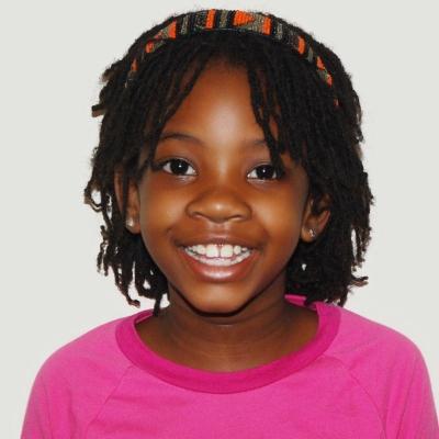 Haarband voor kids met kroes of krullend haar