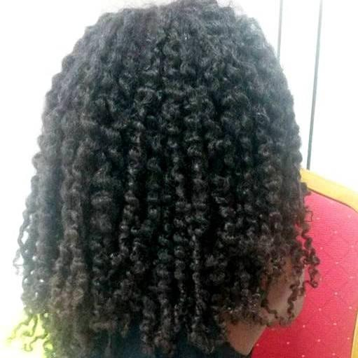 Krullen met going natural haarproducten