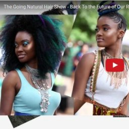 going natural hairshow