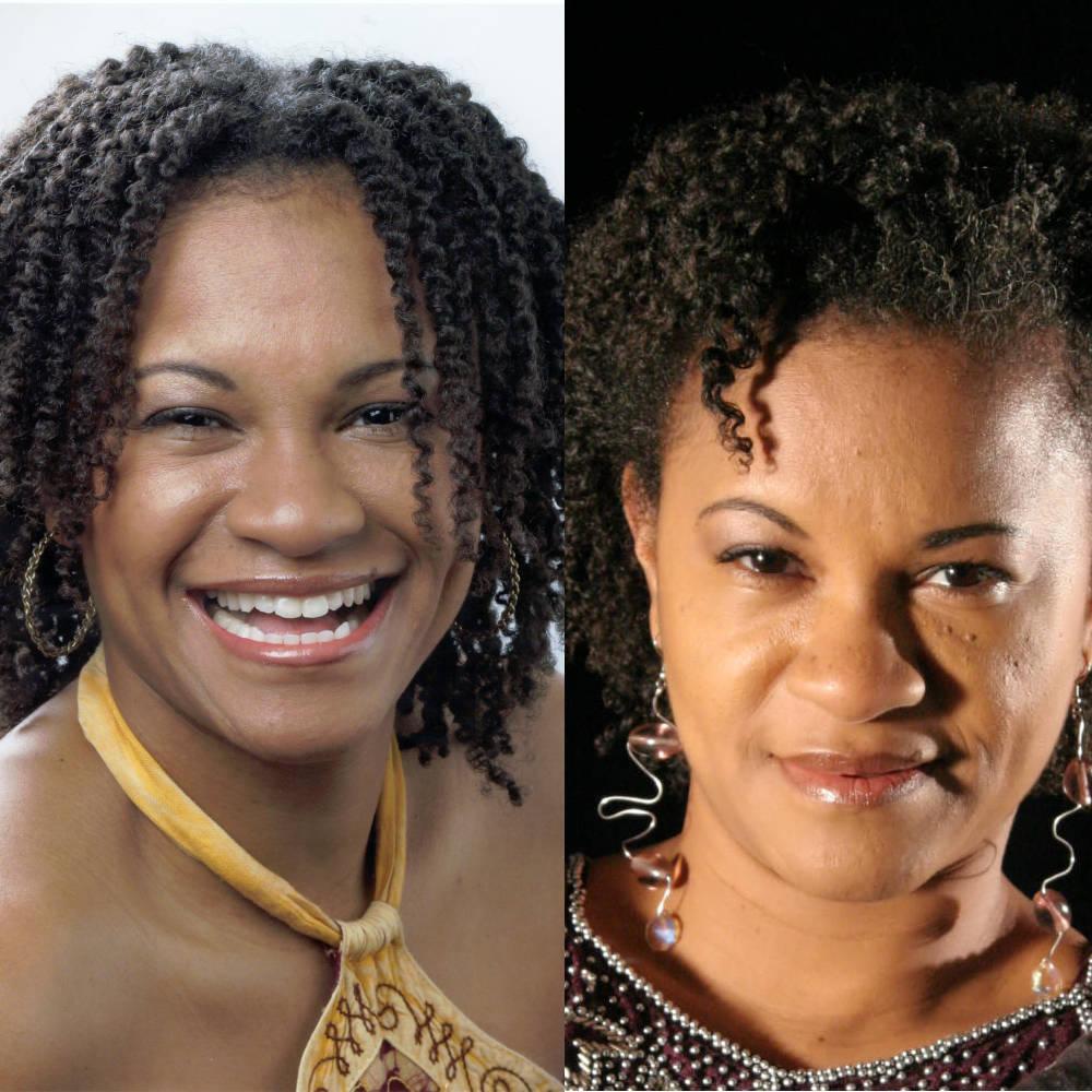 mooie Ebony vrouwen