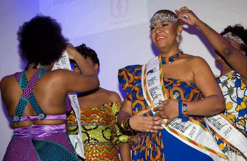 Ritania Wirth wint Miss Black Hair Nederland