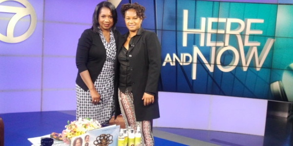 Mireille Liong bij Here and Now TV programma in Amerika