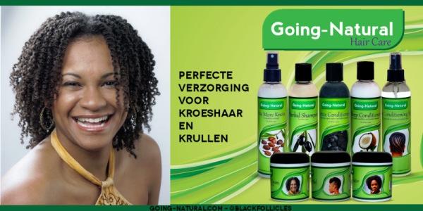 Shop voor Kroeshaar Producten Going Natural
