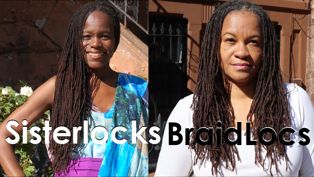 Verschil tussen Sisterlocks en Braidlocs