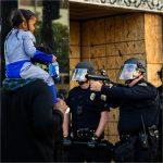 Protesten in Amerika